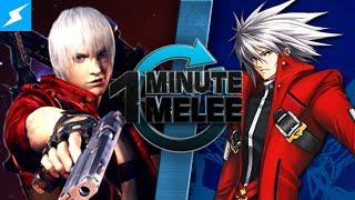 One Minute Melee - Dante vs Ragna the Bloodedge