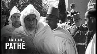 Morocco -  Sultan Escapes Assassination (1954)