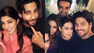 INSIDE MOMENTS : Sidharth Malhotra Birthday Party पर पहुचे Katrina, Jacqueline, Karisma, Sonakshi