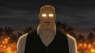 Hohenheim and Alphonse vs Pride (Eng Dub) - Fullmetal alchemist Brotherhood