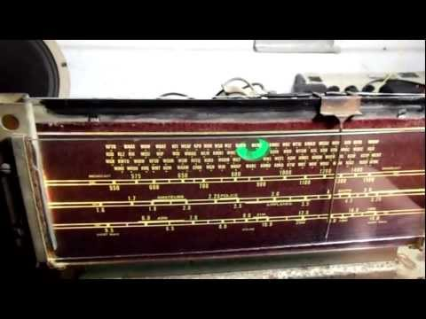 Montgomery Ward, Airline Radio, circa 1938 Repair/Referbish part dux K7PP Channel