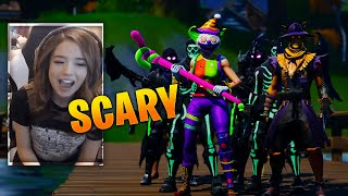 *SCARY* Fortnite Fashion Show! FIRE Skin Competition! Best DRIP & COMBO WINS!