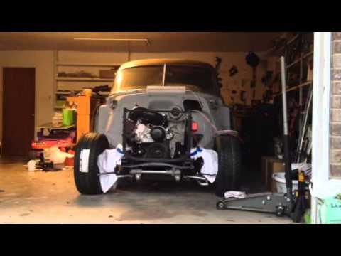 Ls1 Swap 52 Chevy Start Amp Idle Youtube