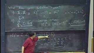 MIT 18.02 Multivariable Calculus, Fall 2007