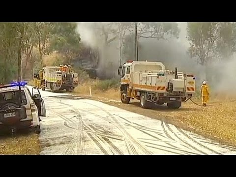 Catastrophe as South Australian wildfires spread and temperatures rise accompanied by hot winds