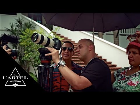 DADDY YANKEE FT/ J ALVAREZ EL AMANTE MAKING OF