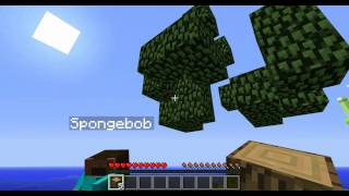 [Minecraft] Spongebob és Patrik kalandjai 1.rész: A kezdetek. (part1)