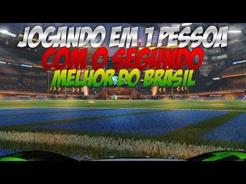 ROCKET LEAGUE  X1 EM 1 PESSOA VS O 2 MELHOR DO BRASIL HABERKAMPER