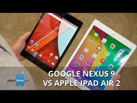 Google Nexus 9 vs Apple iPad Air 2 (3)