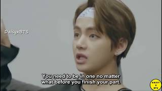 [ENG SUB] Taehyung Cried After An Argument With Jin | BTS Burn The Stage Ep 4
