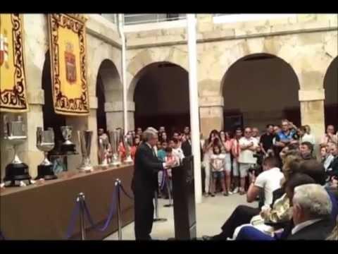 Homenaje a Jesús Gil de Enrique Cerezo en El Burgo de Osma 11-09-12