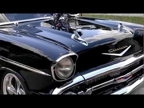1000 HORSEPOWER 57 CHEVY BURNOUT.