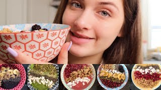 MAKING 5 INSTA-WORTHY SMOOTHIE BOWLS