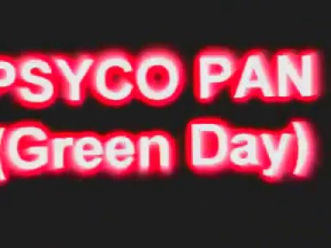 PSYCO PAN (Tributo GREEN DAY)
