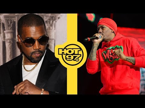 Kanye West Has Words For Nick Cannon, Drake & Tyson Beckford