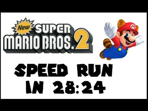 [Obsoleted Personal Best] New Super Mario Brothers 2: Any% Speed Run in 28:24