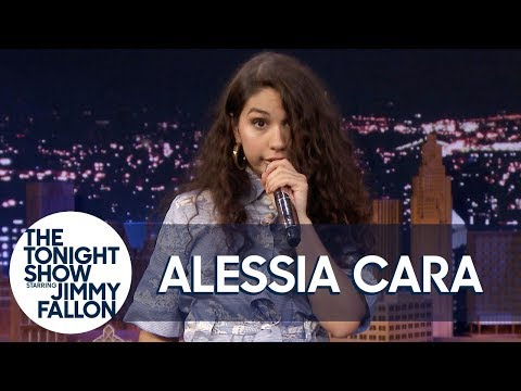 "Alessia Cara Sings ""Bad Guy"" w/ 7 Different Impressions"