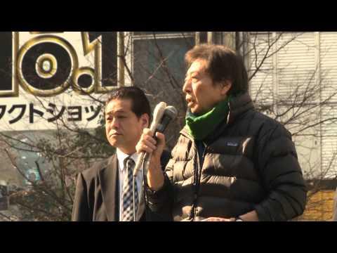 【動画配信】1日、細川もりひろ都知事候補・渋谷ハチ公前街頭演説会