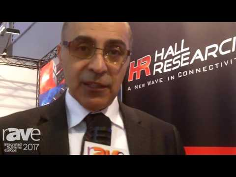 ISE 2017: Hall Research Intros New VSA-X21 HDBaseT Receiver, Switcher and Audio Extractor