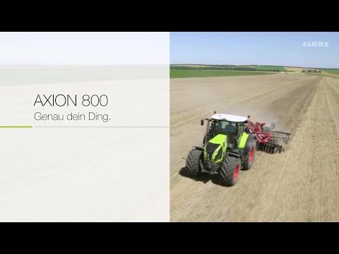 Webspecials AXION 800 - Genau dein Ding / 2017 / de