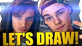 FIRST KISS TADDL und ARDY! - Let's Draw