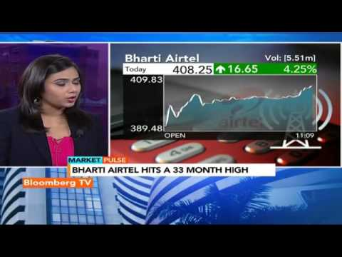 Market Pulse: Bharti Airtel Hits A 33-Month High