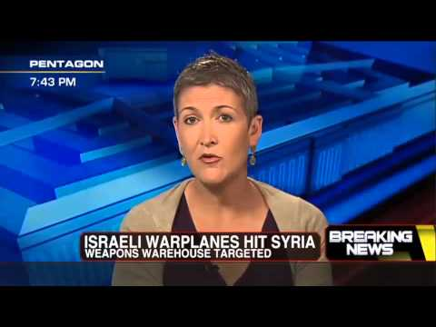 Breaking News : Israeli Air Force bombs a Weapons Facility inside Syria (May 03, 2013)