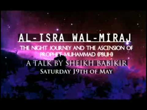 hadith about isra and miraj essay