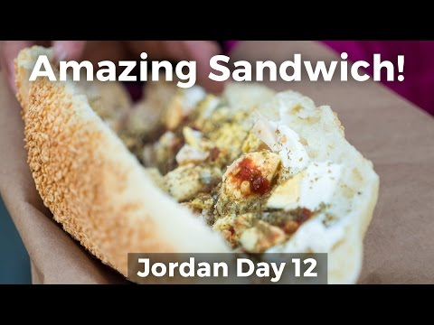 You Have to Try This Sesame Bread Sandwich in Amman