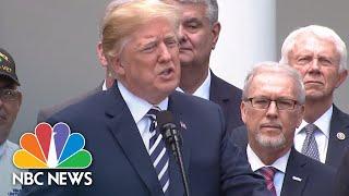 President Donald Trump Signs VA Mission Act Of 2018 | NBC News