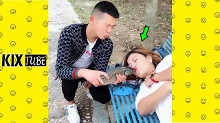 Watch keep laugh EP487 ● The funny moments 2019