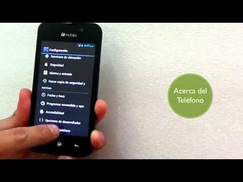 Versión Android Bmobile AX540