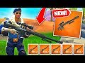 Fortnite HEAVY SNIPER is OP! Can you handle THIS? (Fortnite Battle Royale Update)