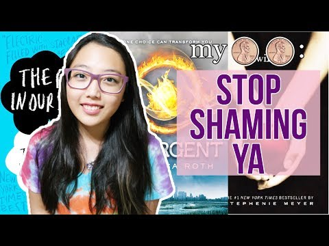 MY TWO CENTS: STOP SHAMING YA