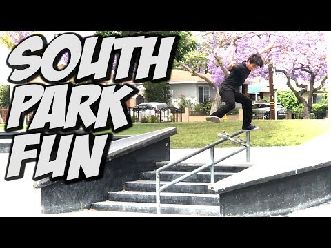 GREAT SKATE DAY AT SOUTH PARK & MORE !!! - A DAY WITH NKA -