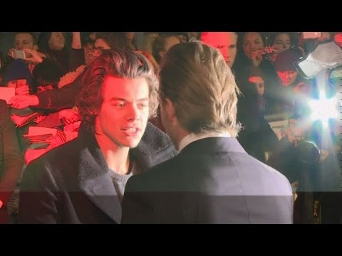 Beckham Bromance: Harry Styles supports his 'idol' David Beckham at The Class of 92 premiere
