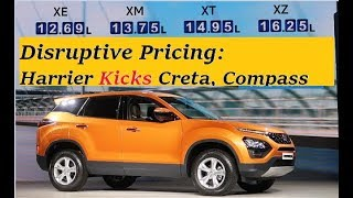 Tata Harrier Pricing Review. Threat to Creta, Compass, Kicks SUV