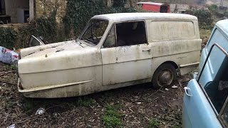 reliant regal van rebuild
