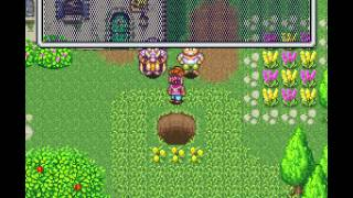 """[TAS] SNES Secret of Mana """"game end glitch"""" by HHS in 08:15.5"""