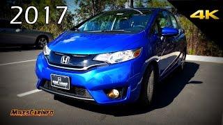 2017 Honda Fit EX - Detailed Look in 4K