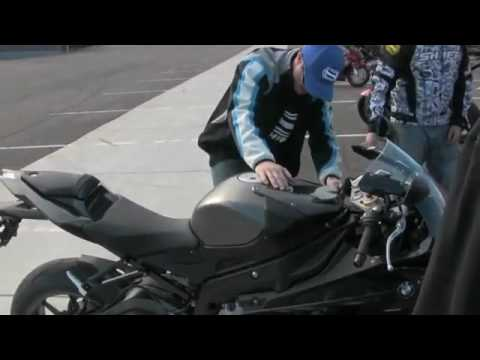 BMW S1000RR  Drifting and Stunting 2010