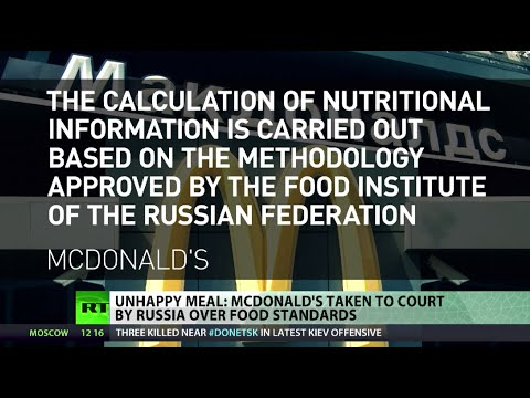 Russia to sue McDonalds over food standards amid sanction tit-for-tat
