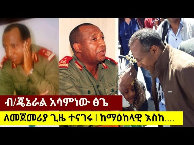 Brigadier General Asaminew Tsige -  Talk to VOA