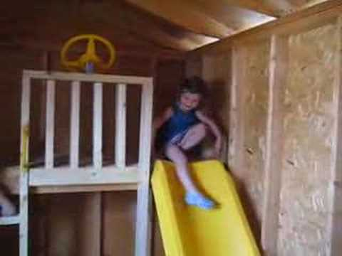 Garden Shed To Playhouse YouTube