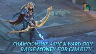 Championship Ashe & Ward – Raise Money for Charity