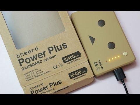 Cheero Power Plus 10400mAh Power Bank Danboard Ver Unboxing & Overview