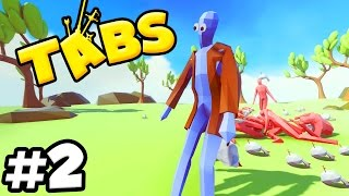 T.A.B.S. Totally Accurate Battle Simulator - THE CHICKEN MAN & SANTA SLEIGH!!! (TABS Gameplay)