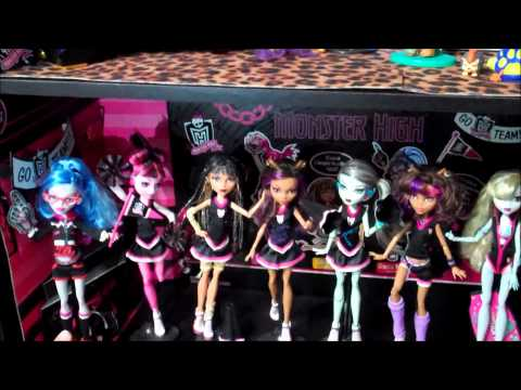 Full Collection of Monster High Dolls ▶ Monster High Collection
