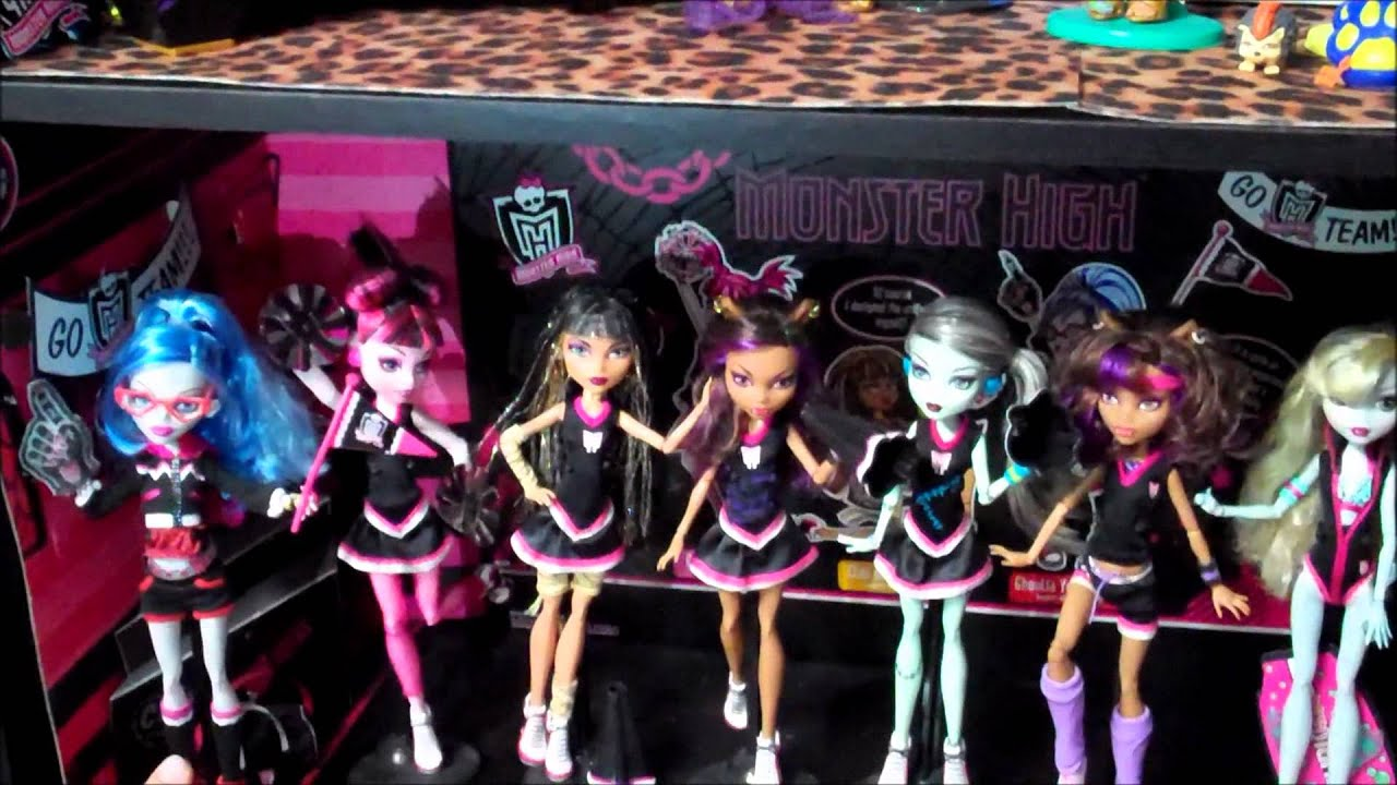 Full Collection of Monster High Dolls Monster High Collection 2012