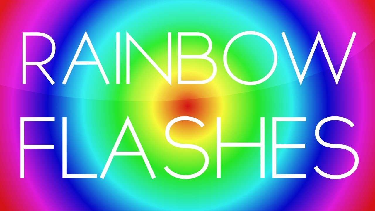 after effects tutorial rainbow flashes youtube